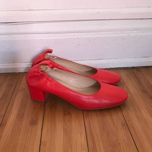 Everlane Day Heel (Red, size 9.5)